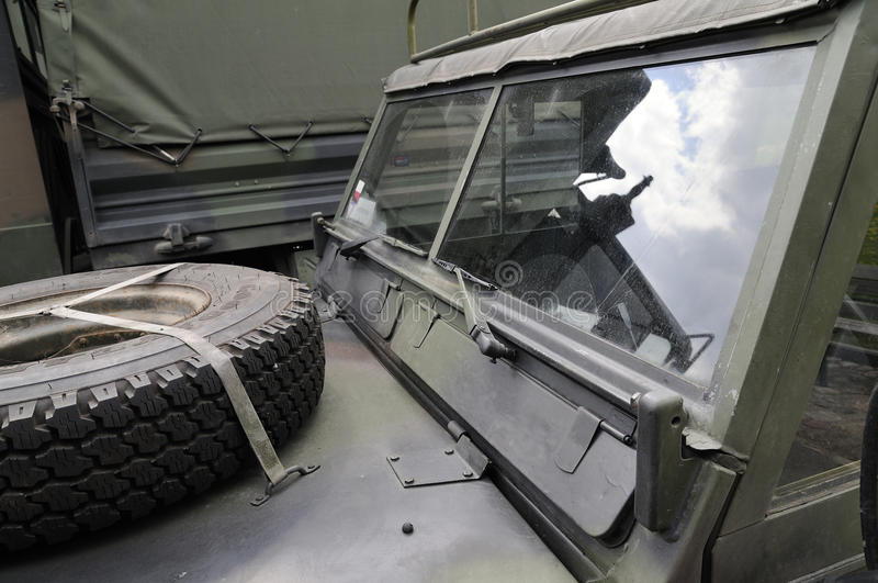 Download Military vehicle stock photo. Image of detail, cloudy - 14310142