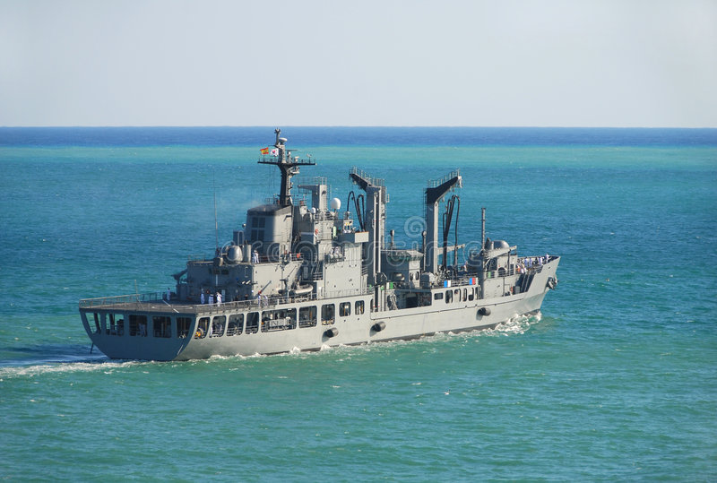 Military vessel stock images
