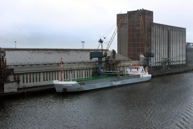 Milivoltio FLINTERBAY - buque de carga general imagen de archivo