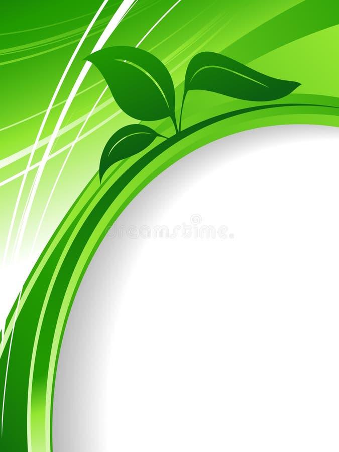 miljöabstrakt bakgrund royaltyfri illustrationer
