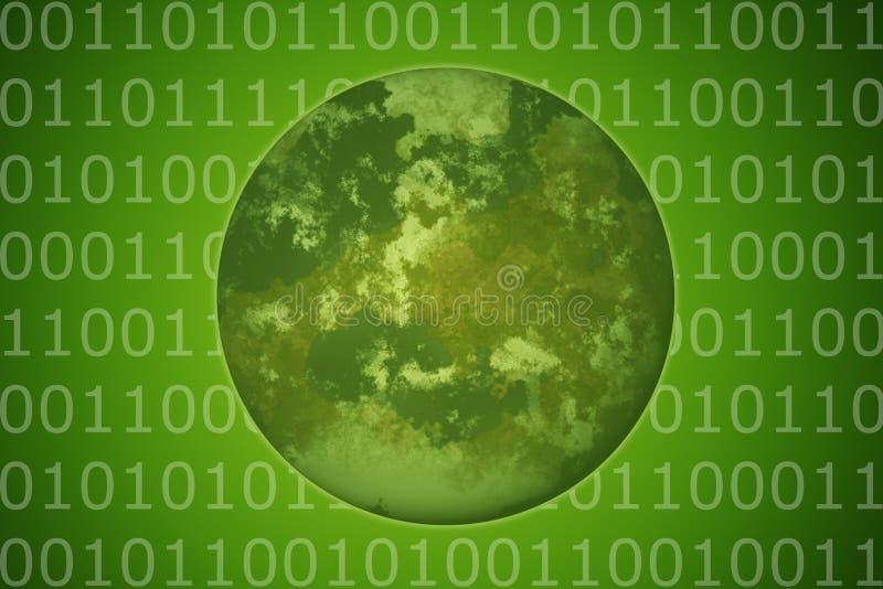miljövänskapsmatchteknologi vektor illustrationer