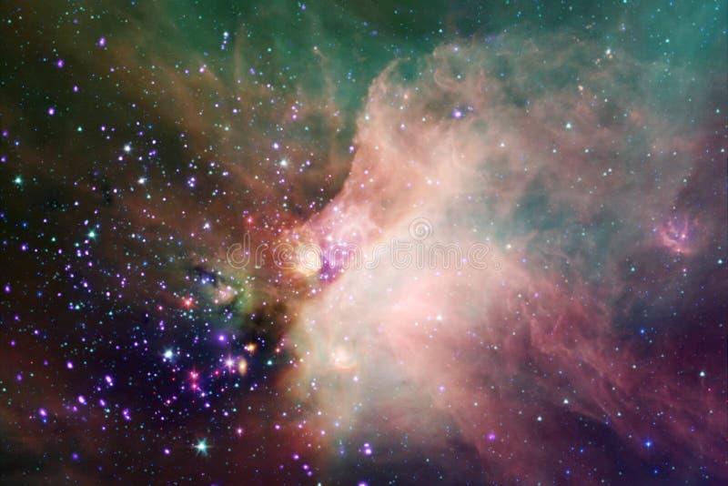 Miljarder av galaxer i universumet abstrakt bakgrundsavstånd arkivfoto