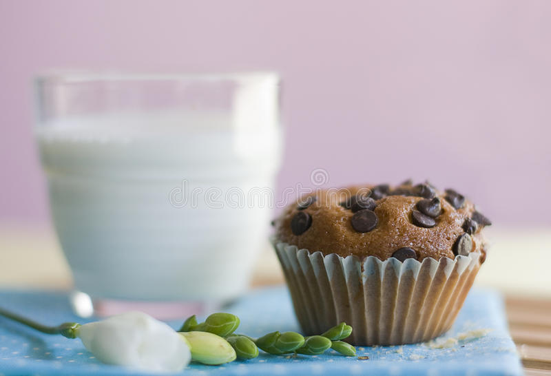 Download Milk stock photo. Image of food, cupcake, dessert, muffin - 17029468