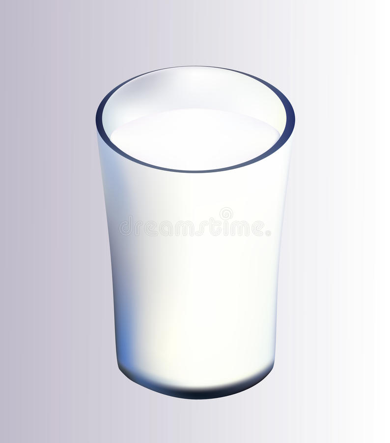 Download Milk stock vector. Image of healthy, pure, illustration - 21249664