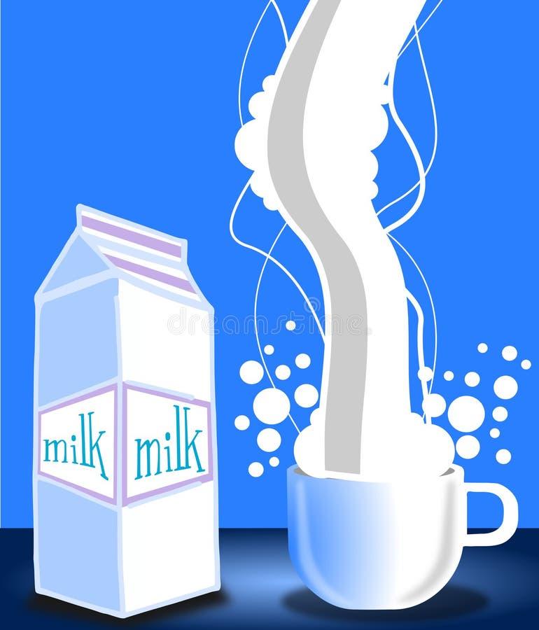 Download Milk stock illustration. Image of beverage, design, delicious - 22842790