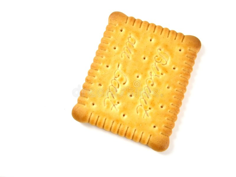Milk biscuit royalty free stock image