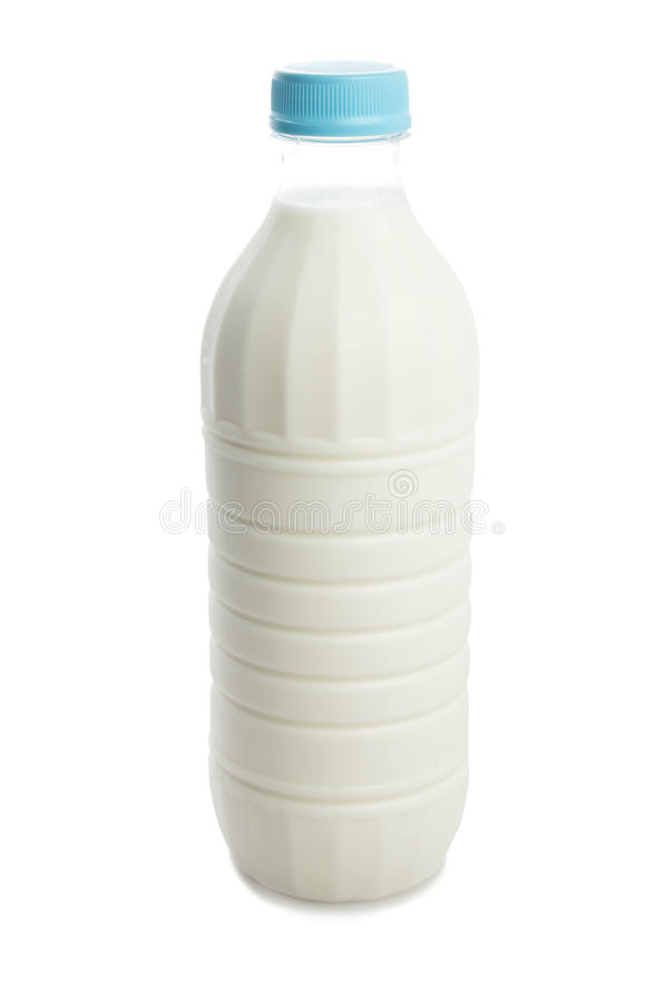 Milk bottle stock photography