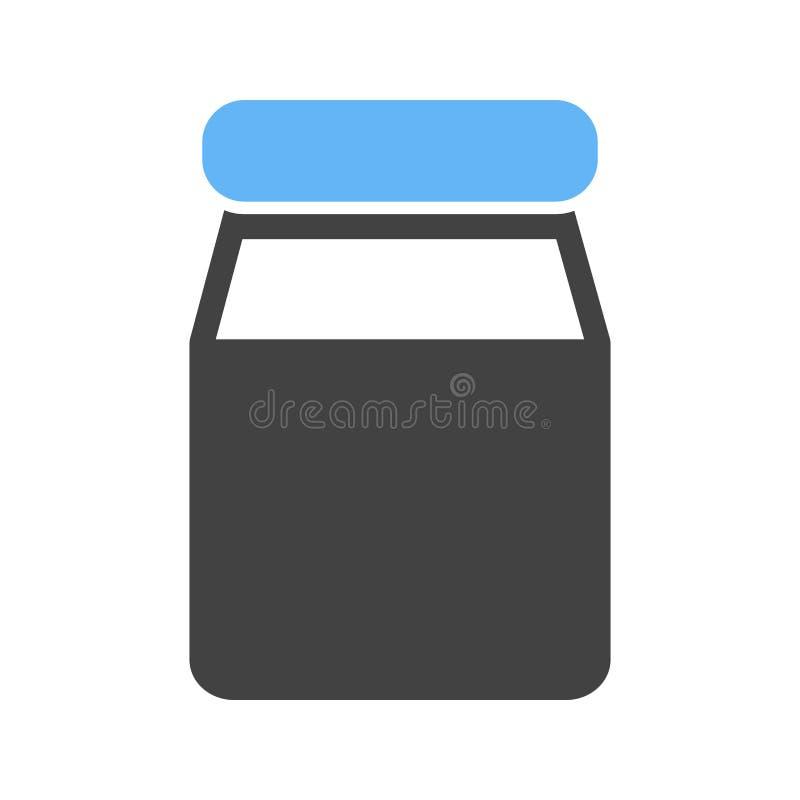 Milk Bottle stock illustration