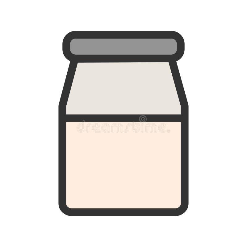 Milk Bottle vector illustration