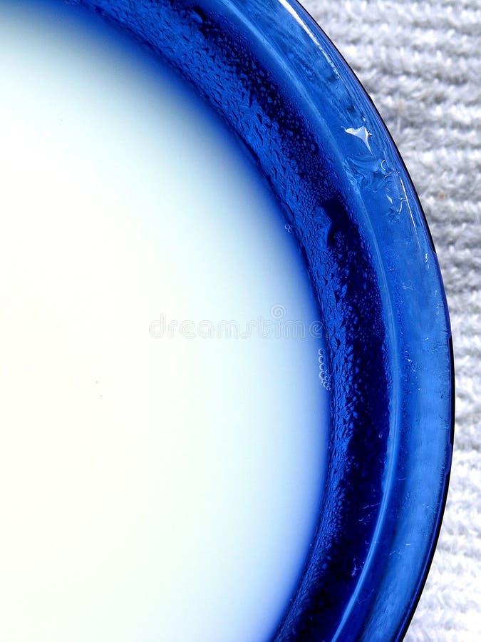 Milk bowl stock photography