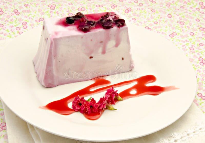 Milk Cake Stock Image