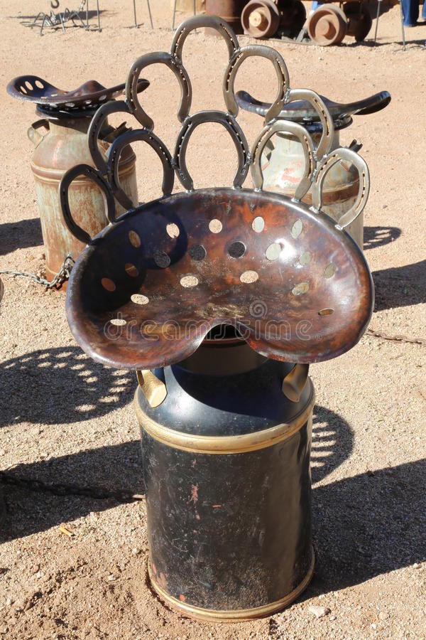 Merveilleux Download Milk Can Chairs Stock Image. Image Of Welded, Structurally    49108531