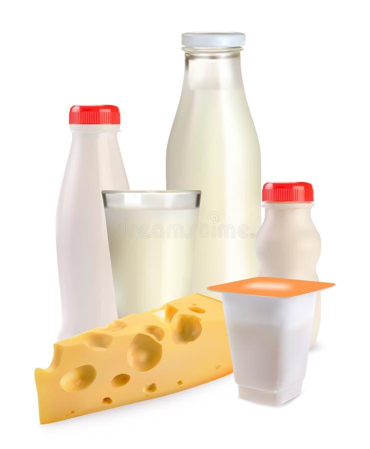 Free Milk Cheese Yogurt Royalty Free Stock Images - 23866439