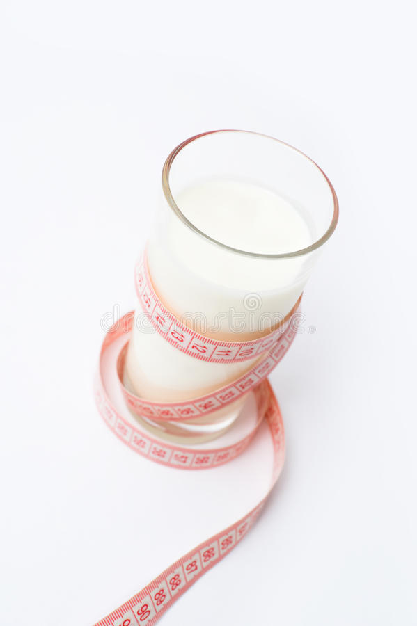Milk diet royalty free stock image