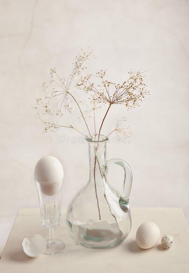 Milk and Eggs stock photos