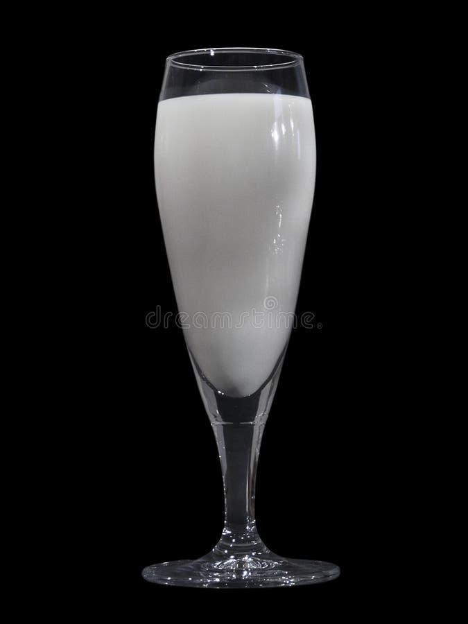 Milk glass royalty free stock image