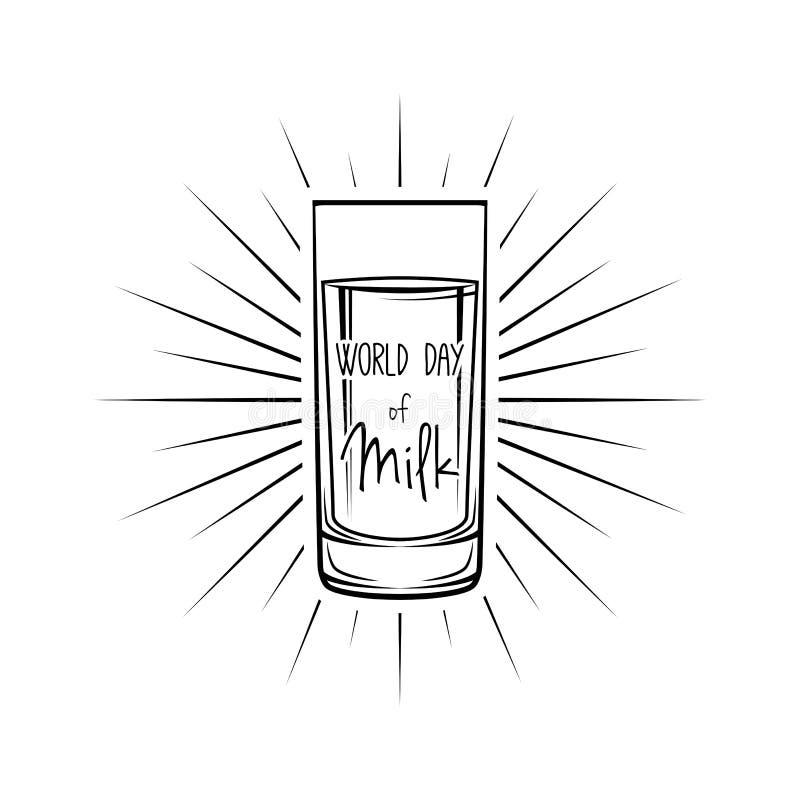 Milk Box Icon. Dairy Logo Label. Natural Product. Milk In