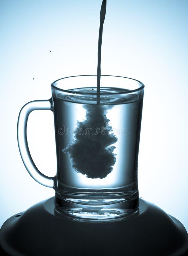 Free Milk In Water Royalty Free Stock Photos - 5707558