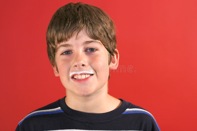 Download Milk Moustache Boy Royalty Free Stock Images - Image: 2250089