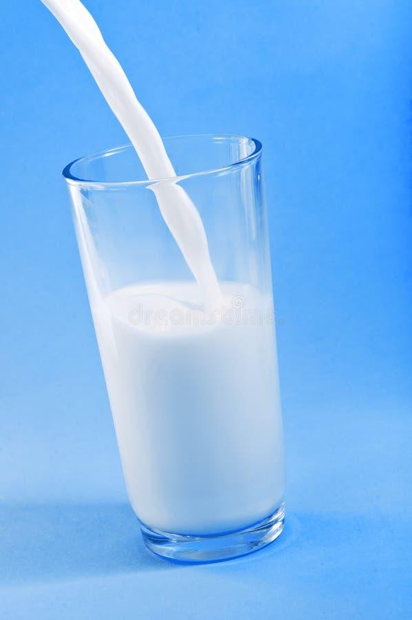 Milk Pouring royalty free stock photo