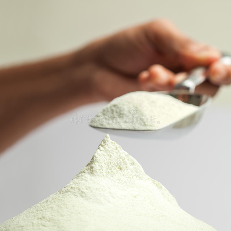 Milk Powder Royalty Free Stock Photos