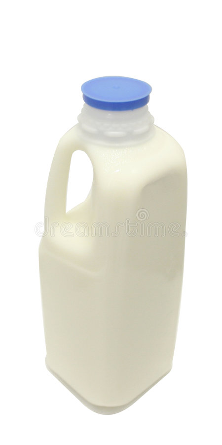 Free Milk Quart Blue Cap Royalty Free Stock Photos - 294628