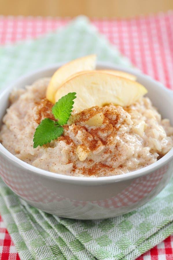 Milk Rice Pudding stock photo. Image of breakfast ...