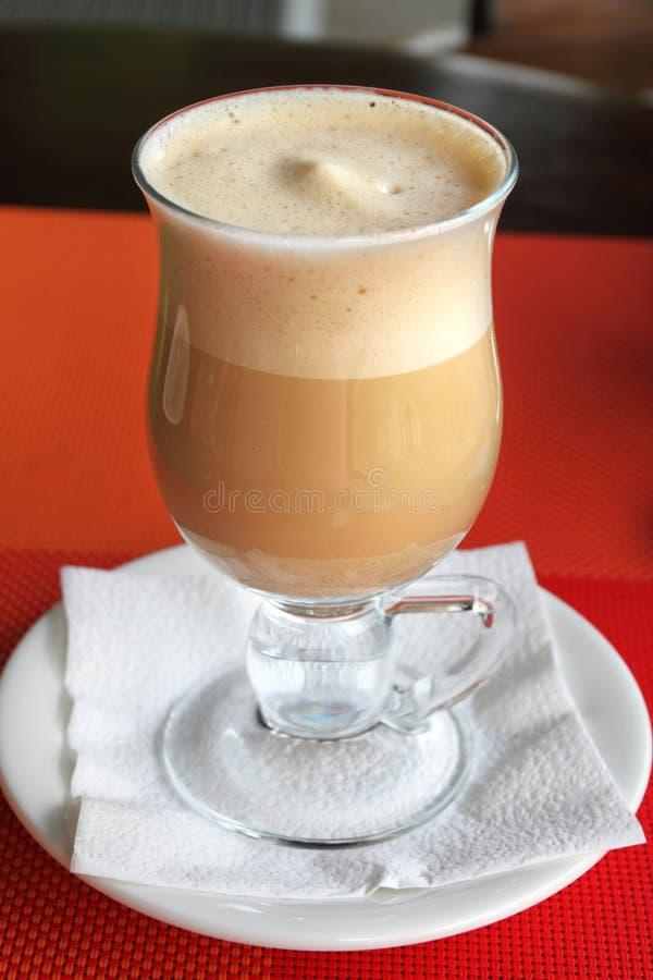 Milk shake do café fotos de stock royalty free