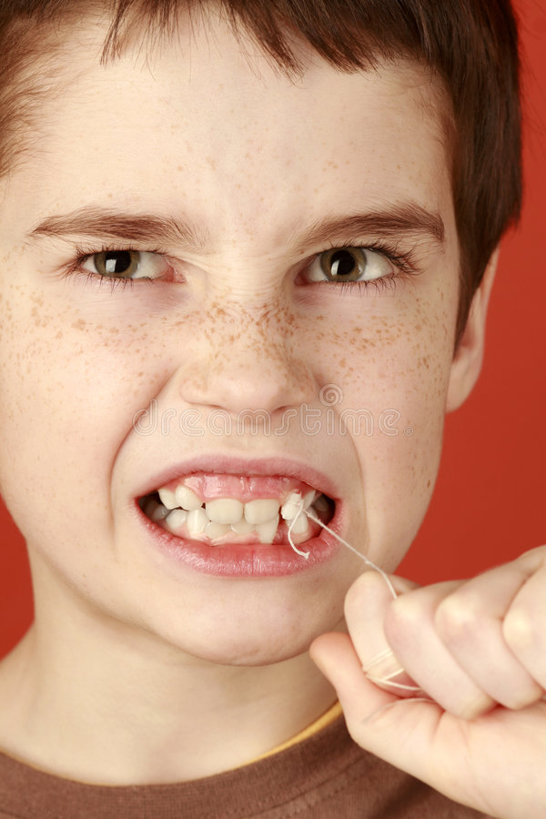 Milk tooth royalty free stock photos