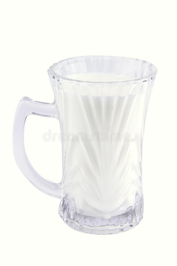 Download Milk In Transparent Glass Royalty Free Stock Image - Image: 10518786