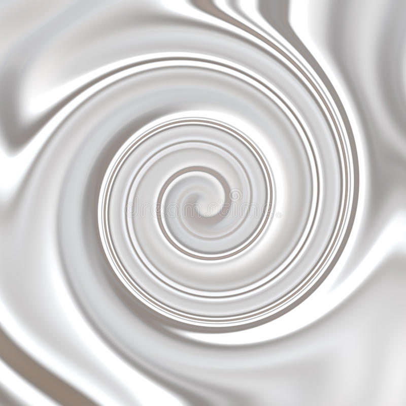 Download Milk ,Whipped Or White Yoghurt Cream Swirly Stock Illustration - Illustration of cappuccino, twirl: 11804936