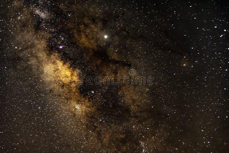 Milkeyway galax royaltyfria foton