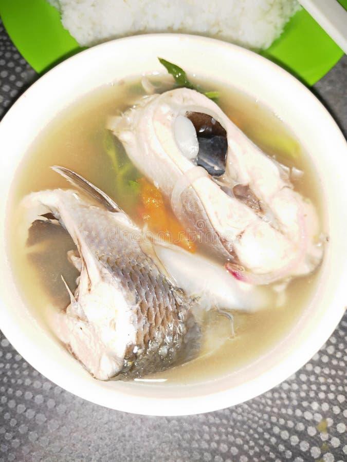 Milkfish Soup fotografering för bildbyråer