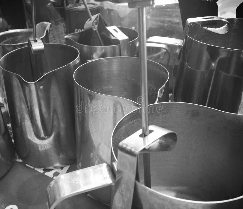 Milkpot fotos de stock