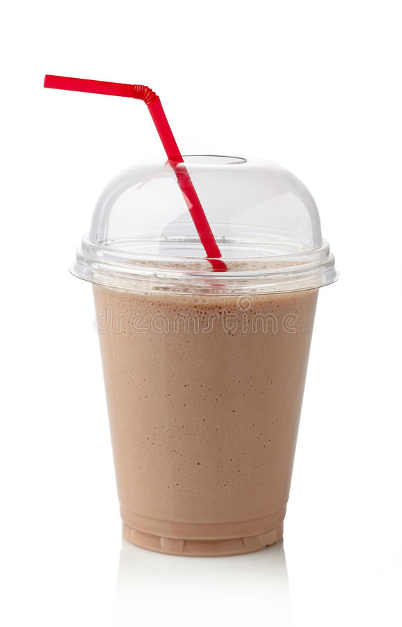 Milkshake шоколада стоковое изображение rf