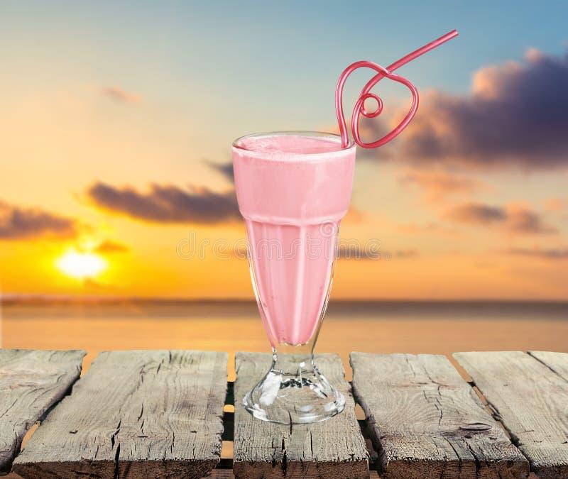 Milkshake imágenes de archivo libres de regalías