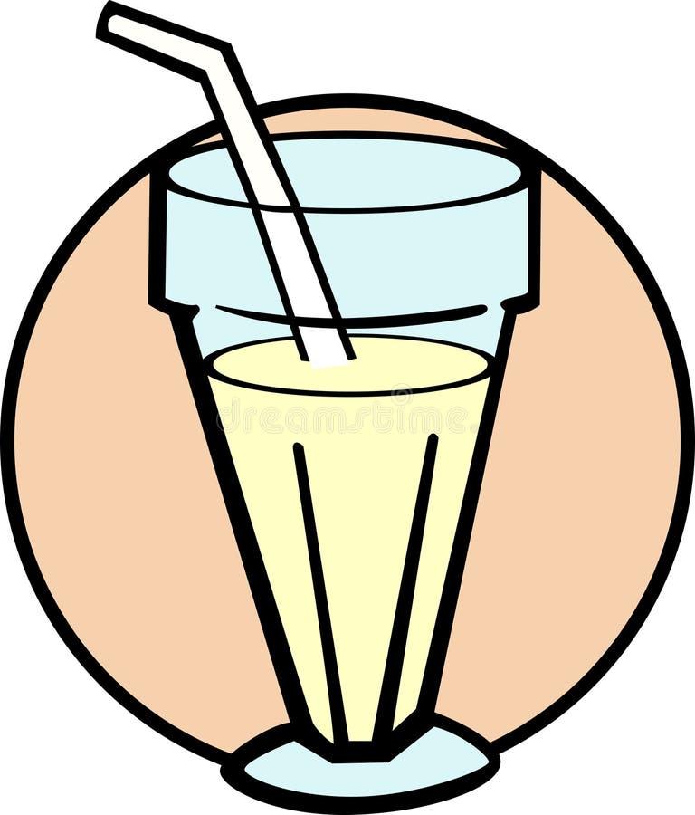Milkshake ilustración del vector