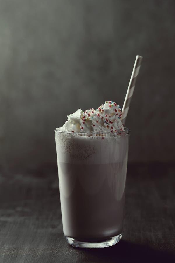 Milkshake stock afbeeldingen