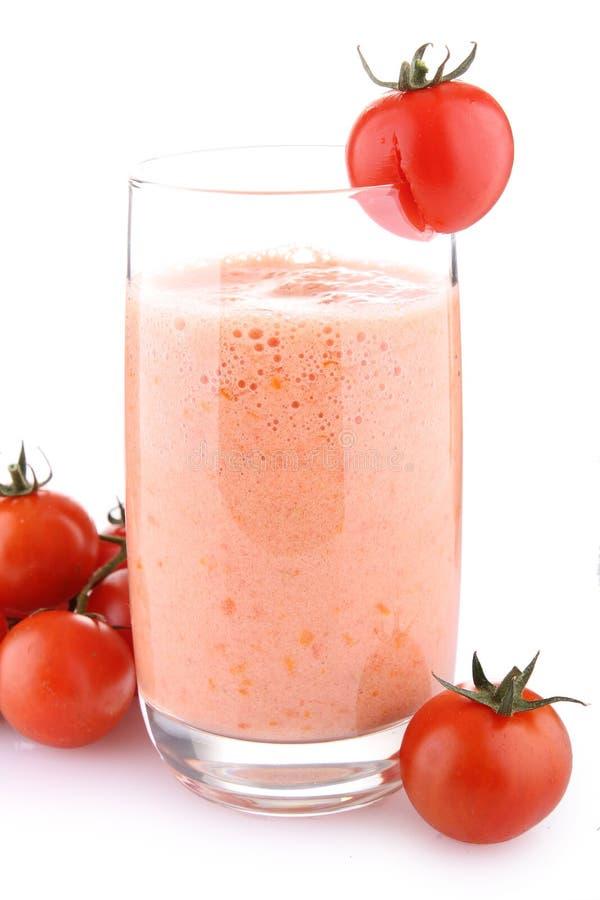 Milkshake del tomate fotos de archivo