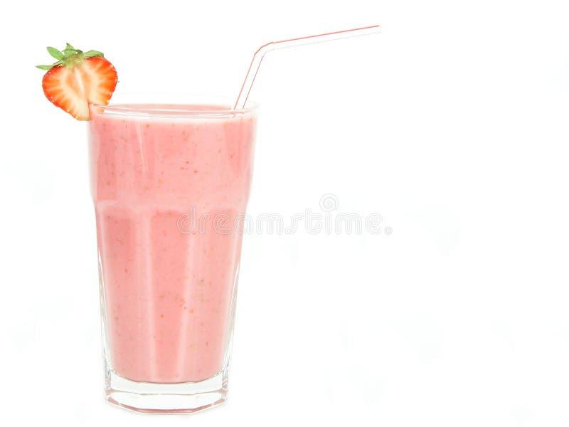 Download Milkshakejordgubbe fotografering för bildbyråer. Bild av bär - 239755