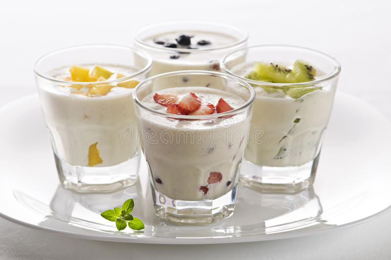 Milkshakes fotos de stock