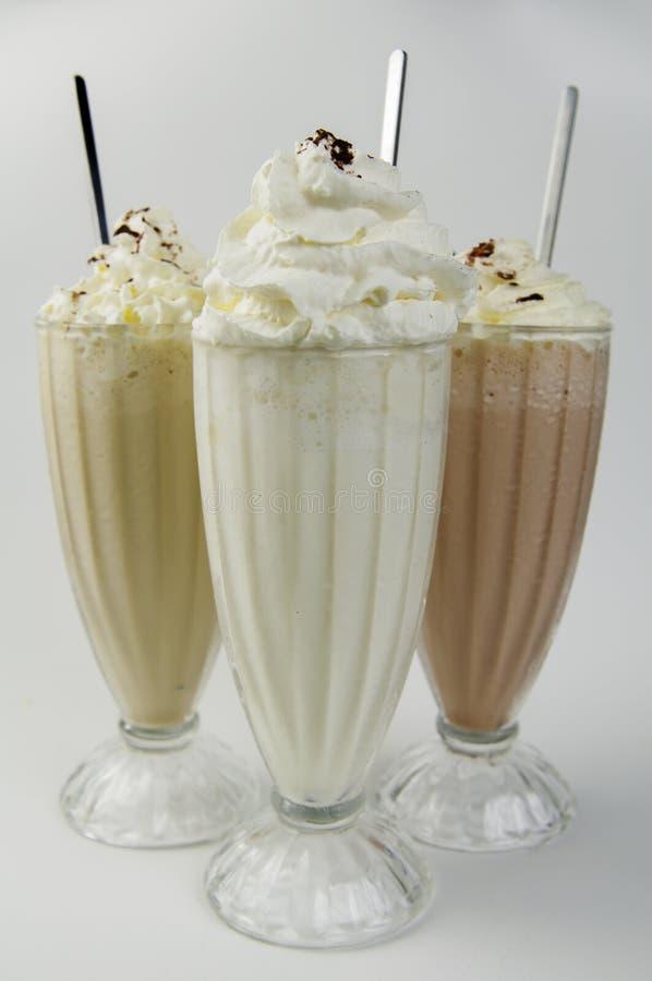 milkshakes foto de stock