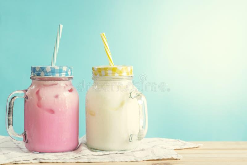 milkshakes стоковое изображение