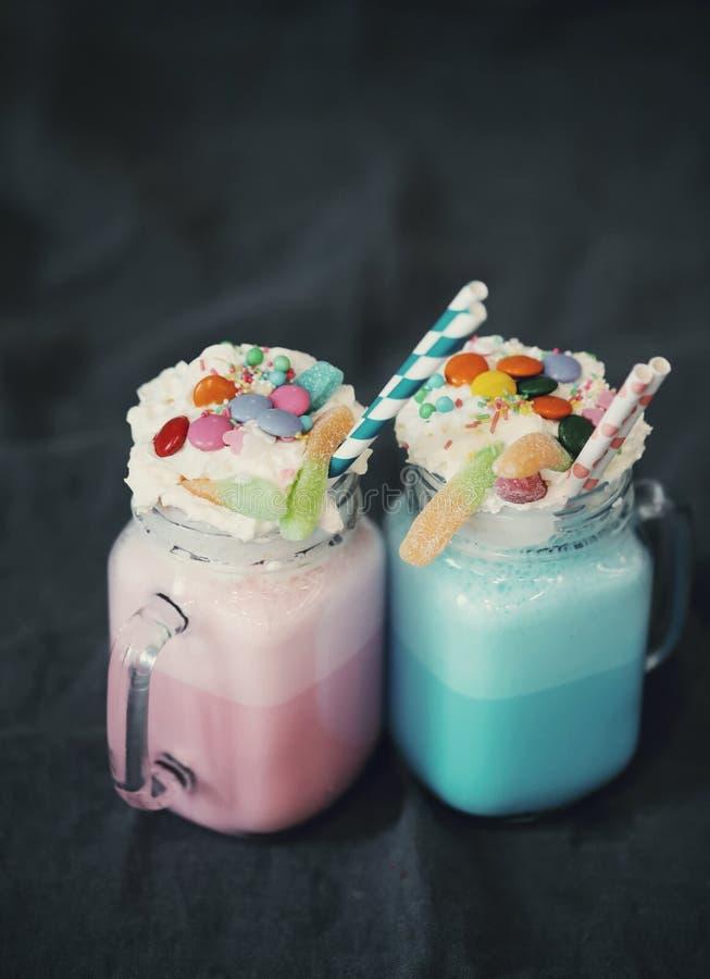 milkshakes стоковая фотография rf