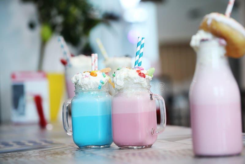 milkshakes стоковые изображения