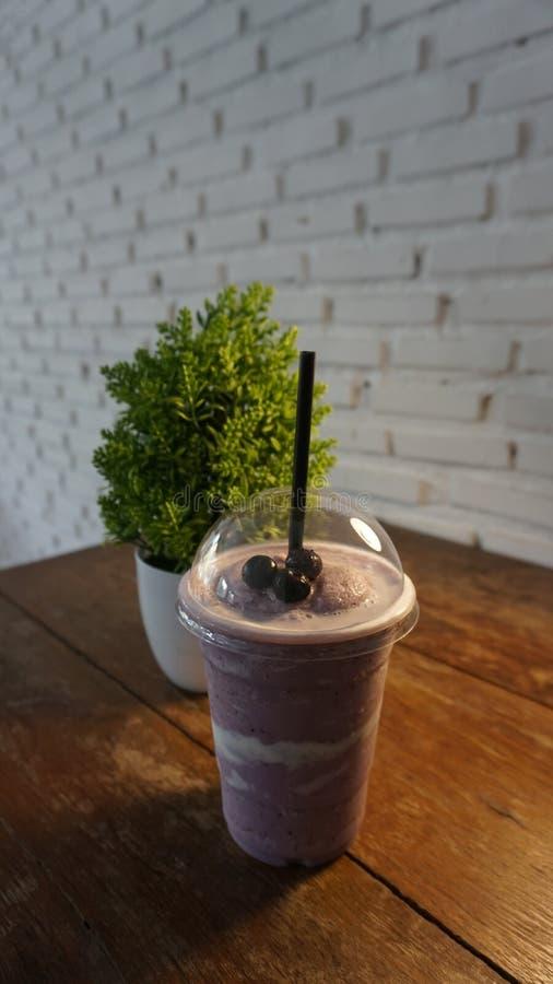 Milkshakes and smoothies. Berry, fruit. stock photos