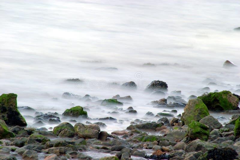 Download Milky morza zdjęcie stock. Obraz złożonej z rozchlupotany - 41424