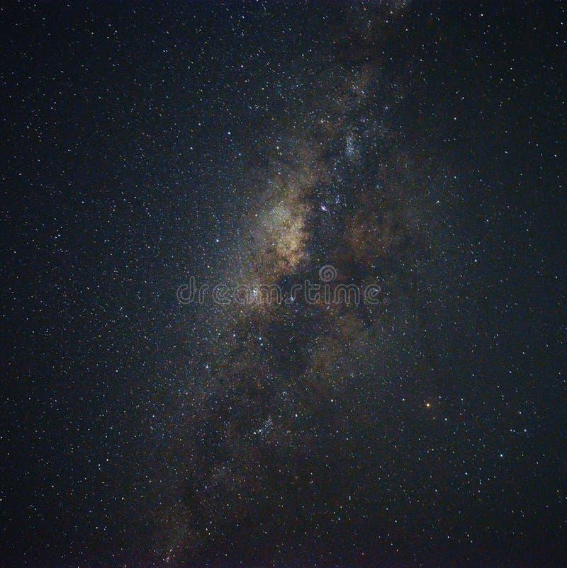 Milky sposób w Yogyakarta obrazy stock