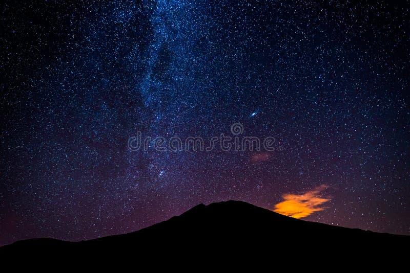 Milky sposobu galaxy fotografia stock