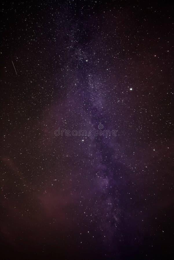 Milky sposobu galaxy obraz stock